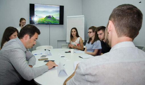 Обсуждение презентации после выступления студентов